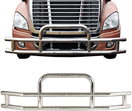 Freightliner Cascadia Stainless Steel Hood Surface Trim