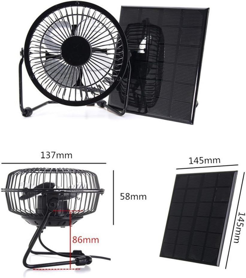 wiFndTu 4 Pulgadas Que enfría el Panel de energía Solar del ...