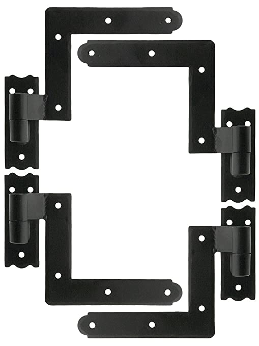 Set Of New York Style Shutter Hinges With 2 1/4 Offset - Cabinet And ...