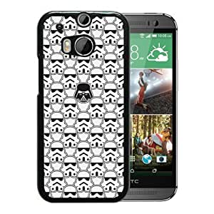 Attractive Case Many Star Wars HTC ONE M8 Case in Black