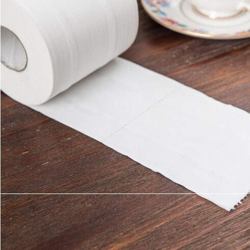 LILIHOT Toilettenpapier Wei/ßes Toilettenpapier Toilettenpapier Tissue Roll Packung 4-lagigen Papiert/üchern Tissue Toilettenpapier Toilettenpapier Tissue Serviette