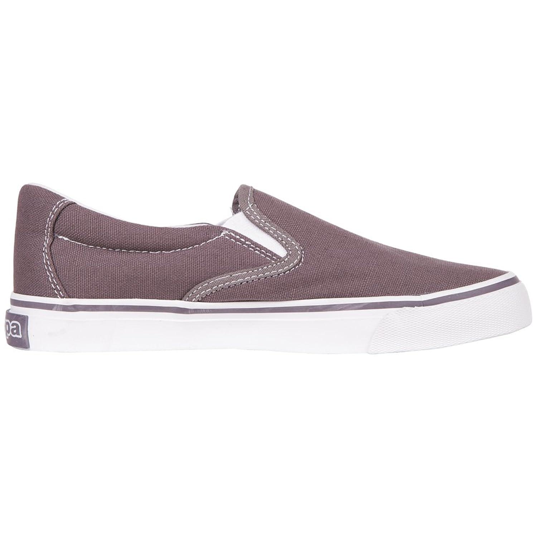 Kappa PEAK Footwear unisex - zapatilla deportiva de lona unisex, color negro, talla 38