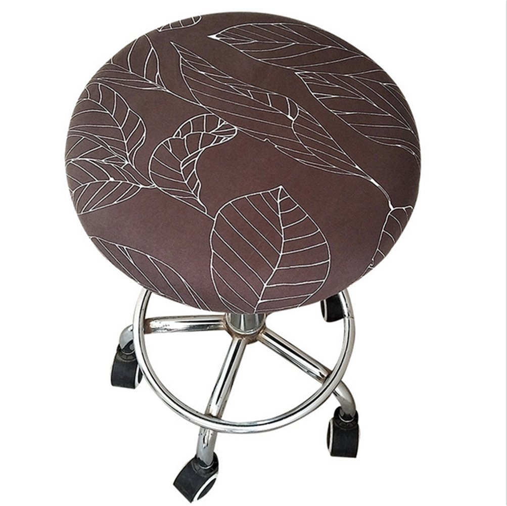 Seiyue Soft Stretchable Round Bar Stool Chair Covers Protectors (19)