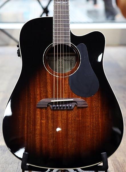 Alvarez Artist ad66cesb Guitarra Eléctrica y Acústica, Cutaway Solid Sitka spruce
