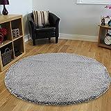 Cheap Nourison MSG01 Malibu Shag Area Rug, 6'7″ x6'7, SLATE