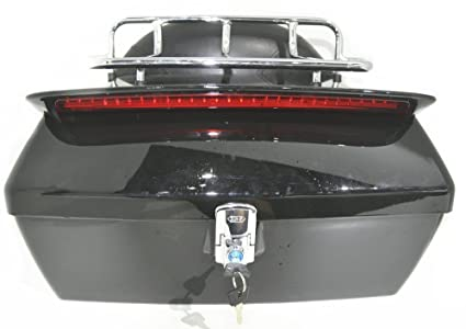 6156vTW6nJL._SX425_ amazon com black motorcycle trunk tail box luggage universal w  at soozxer.org