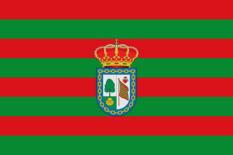 magFlags Bandera Large Valdefresno, León, España | Bandera Paisaje | 1.35m² | 90x150cm: Amazon.es: Jardín