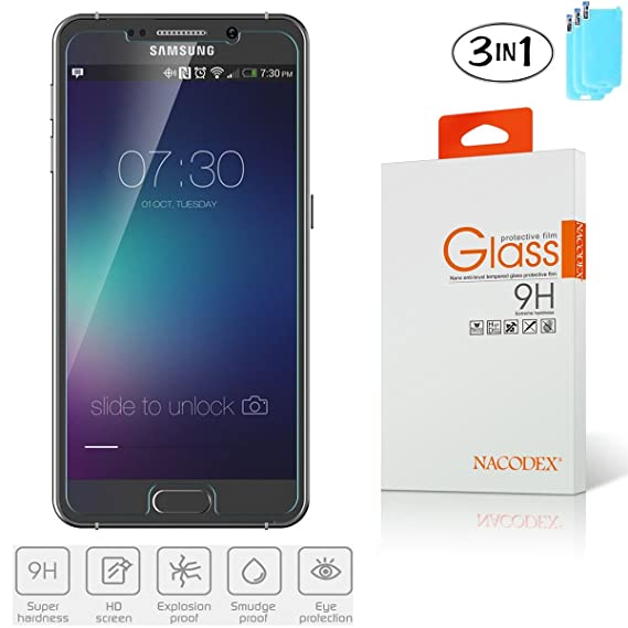 3X Nacodex Glass For Samsung Z3 SM Z300H 3 Pack Tempered Screen