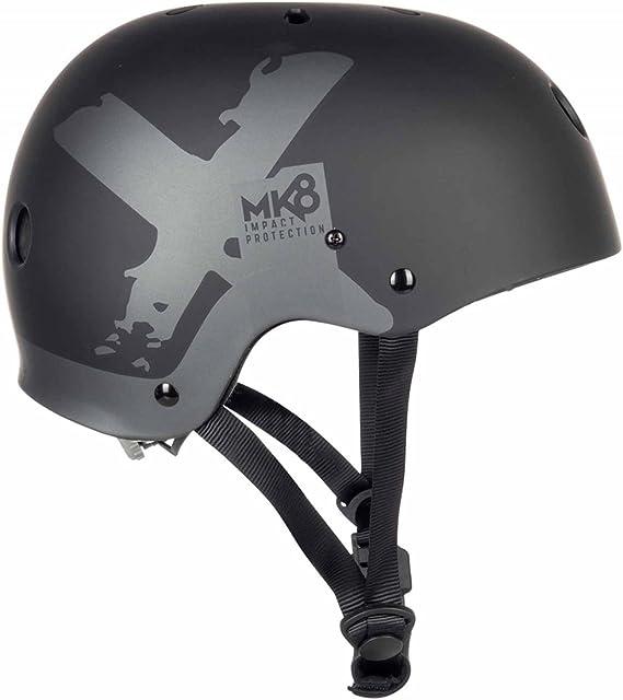 Leichtgewicht Surf Kitesurf /& Windsurfing Mk8 X Helm Schwarz Mystic Watersports CE-gepr/üft: CE EN 1385 Unisex
