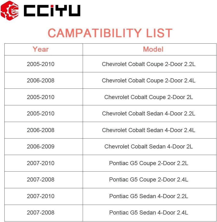 cciyu Door Lock Actuators Door Latch Front Left Fits for 2005-2010 ...