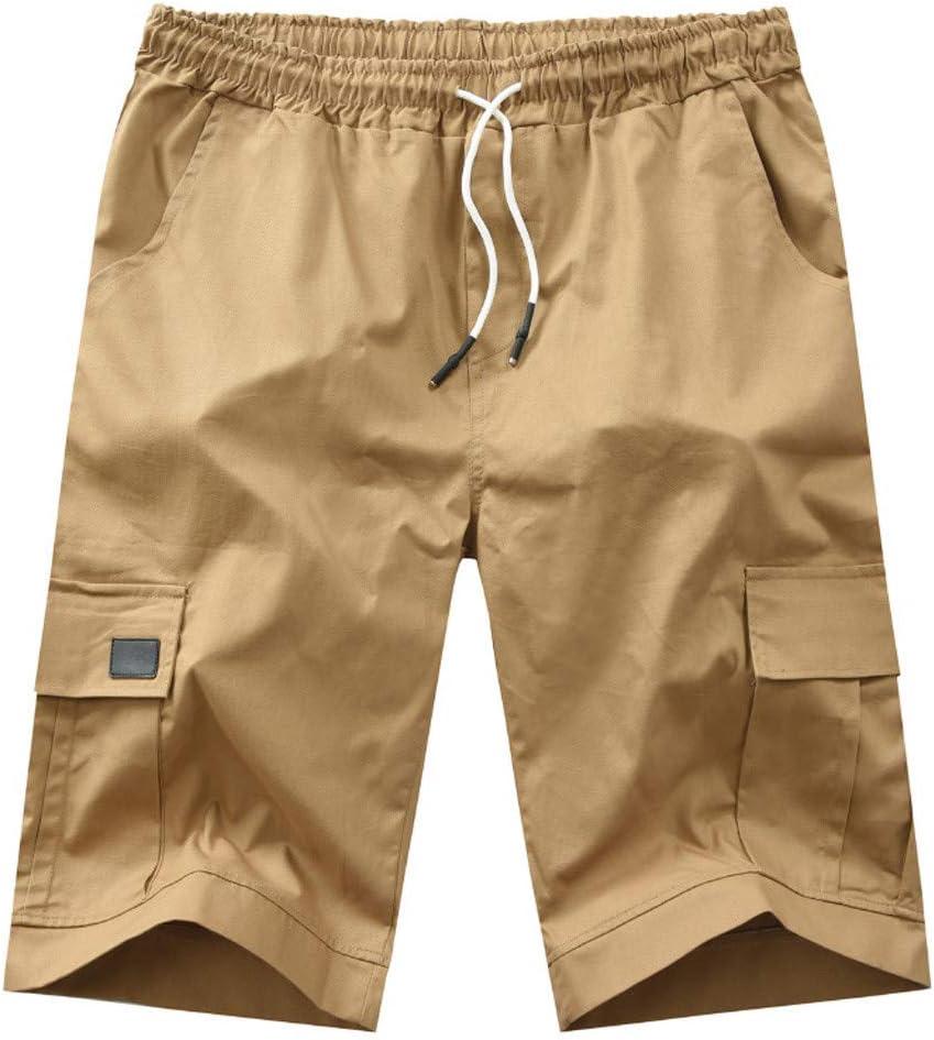 AG&T Hombre Pantalones Cortos Laboral Verano Militares Camuflaje ...