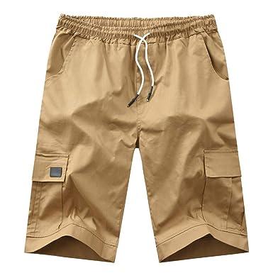 BOBOLover Pantalones Hombre Verano Moda Pop Pantalones Casual ...