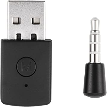 Amazon Com Ps4 Bluetooth Adapter Delaman Mini Usb 4 0 Bluetooth Adapter Dongle Receiver And Transmitters Compatible With Ps4 Playstation Computers Accessories