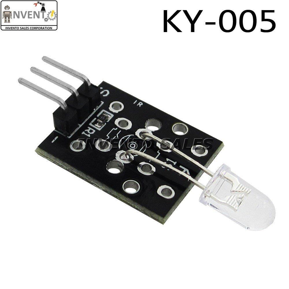 KY-005 38KHz Infrared IR Emission Transmitter Sensor Module For Arduino