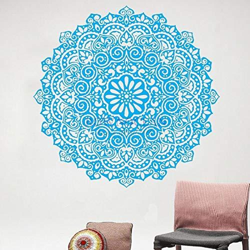 Aya611 Pegatinas de Pared hindú Mandala Yoga Indio Pegatinas ...