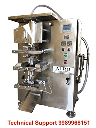 Auroplus Systems India Automatic Liquid Packing Machine