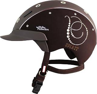 casco Spirit Crystal–Bombe d'équitation Taille 6 Revêtement en Nubuck synthétique
