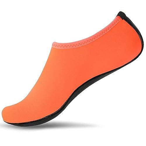 SUADEX Unisex Hombre Mujer Zapato de Agua Zapatos de Playa Natación Surf Escarpines Calzado de Playa Piscina para Niño Niña: Amazon.es: Zapatos y ...