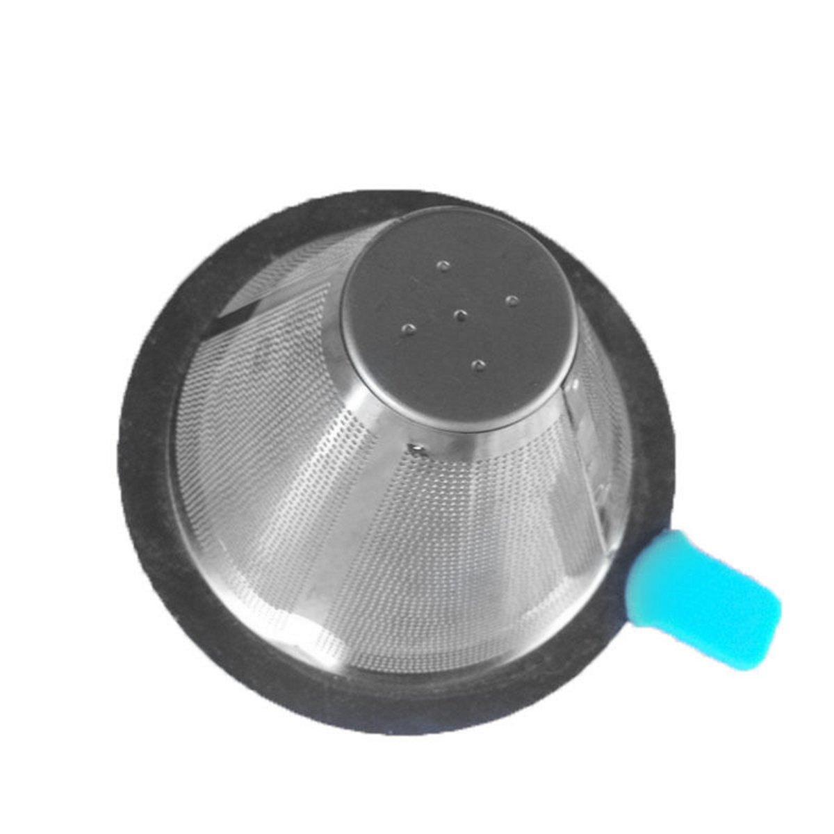 aodeweコーヒーフィルタFunnel絞らpour Over Tea Coffee DripperステンレスメッシュStrainer   B0761FSSNS