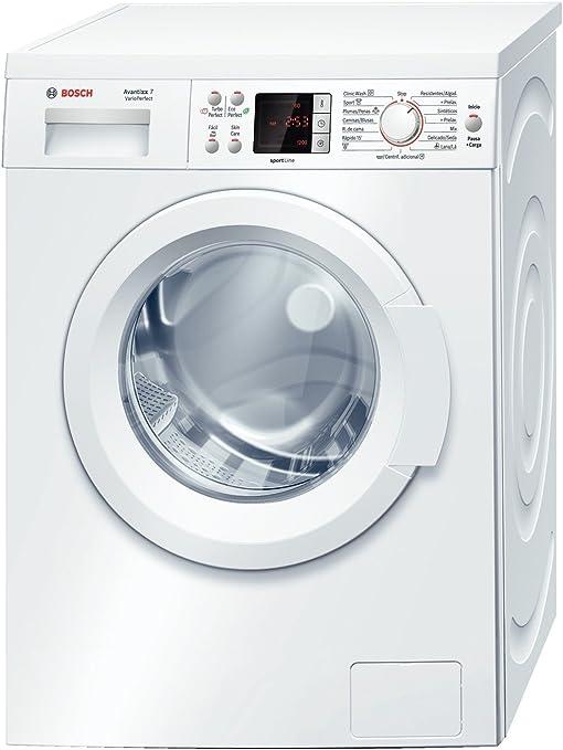 Bosch WAQ2447PEE Independiente Carga frontal 7kg 1200RPM A+ Blanco ...