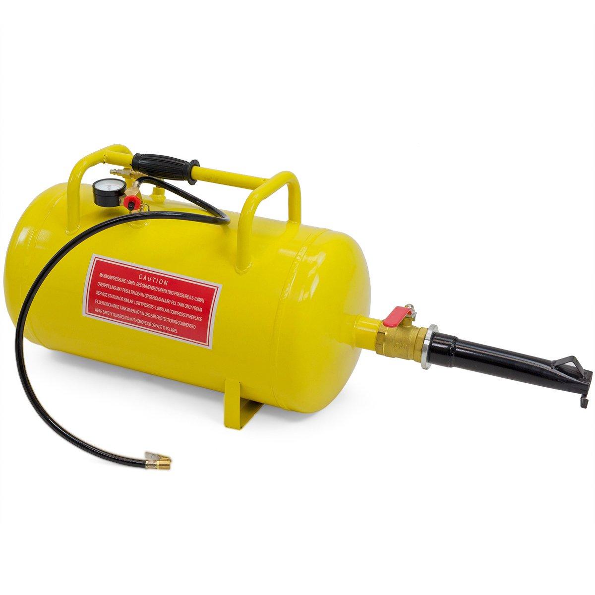 Air Tank combo Tire inflator Rim Bead seater Breaker Breaking Blaster, 10-Gallon