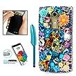 LG K20 Plus Case, LG K20 V Case - AS-Zeke 3D Handmade Bling Crystal Colorful Pretty Mermaid Flowers Shiny Glitter Sparkly Diamond Rhinestone Cover for LG K10 (2017) /LG K20 Plus /LG Harmony /LG LV5