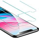 Pellicola Protettiva iPhone X [2 Packs], ESR Pellicola Vetro Temperato [Anti-Graffo/Olio/Impronta] con 9H Durezza Protezione Elevata per Apple Nuovo iPhone X / iPhone 10 da 5.8 Pollici (Uscito a 2017).