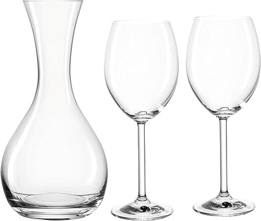 Montana Ensemble de vin 3 pièces Lot de 1 Carafe à vin et 2