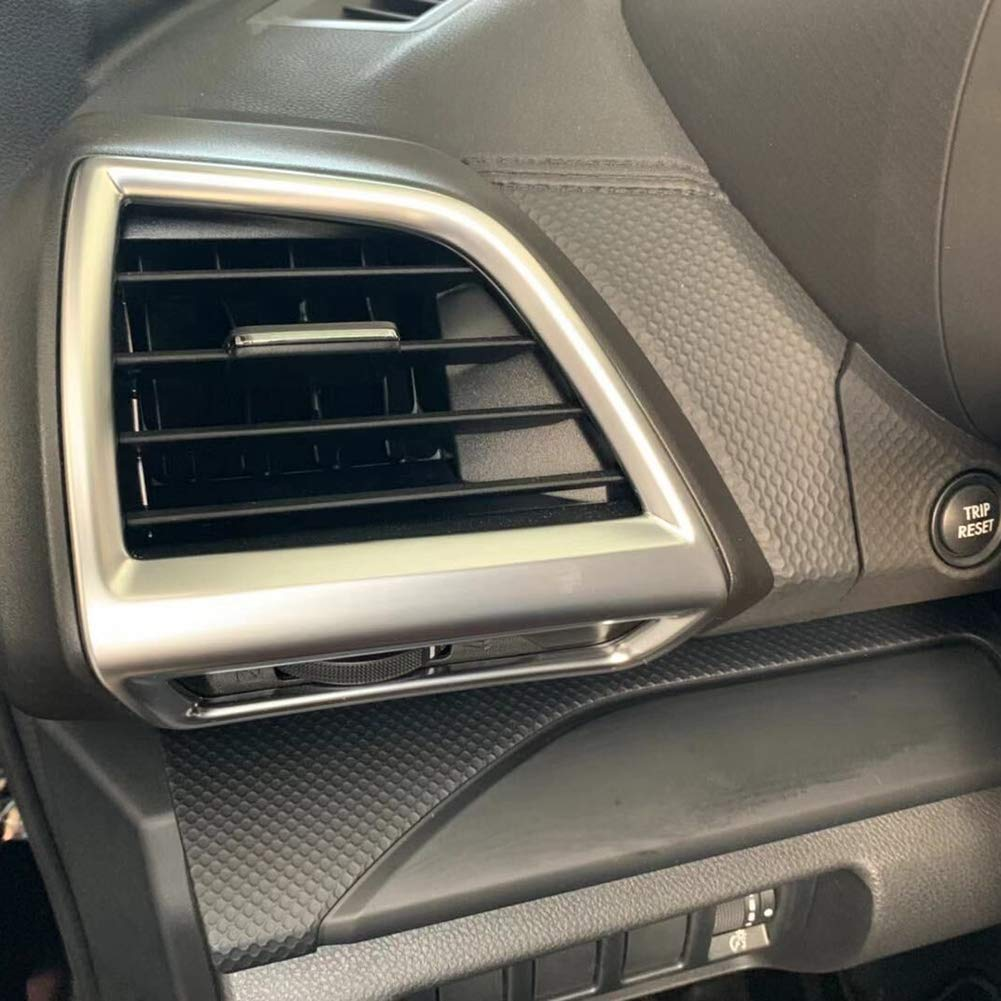 Beautost Fit For Subaru 2019 New Forester Interior Front Side Air Condition Vent Outlet Cover Trim ABS Matte Kate Wenzhou automobile supplies factory