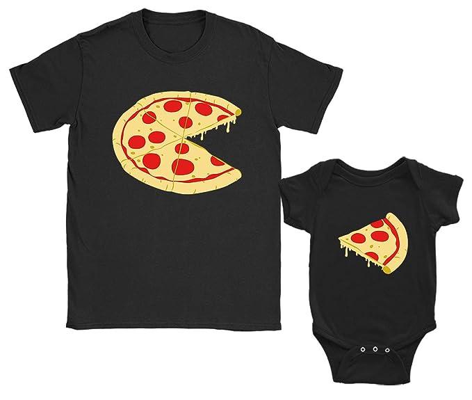 0503368cbfae0 Green Turtle T-Shirts Pizza & Part de Pizza Body pour bébé & T-Shirt ...