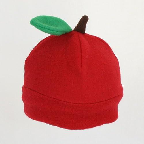 Amazon.com  Fleece Apple Hat  Handmade 68d77ed7ed5