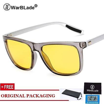 Amazon.com: Yellow Lens Sunglasses Women Men Night Vision ...