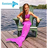 FREE SHIPPING IN OCTOBER! FANTASY FIN SWIMMABLE MERMAID TAIL SHIMMER PURPLE