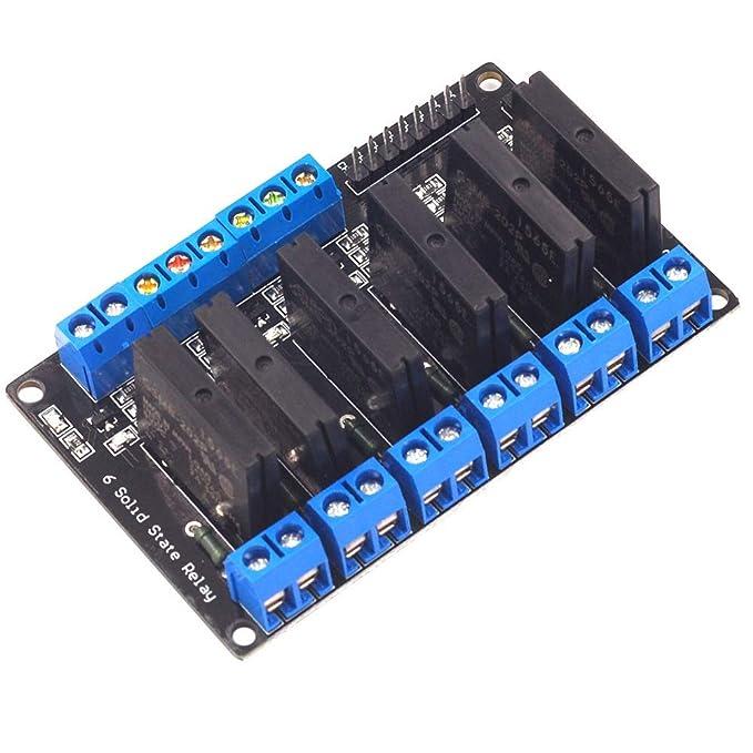 Quintion Child Módulo de Control HY-M282 6 Camino 3V 5V 12V 24V de ...