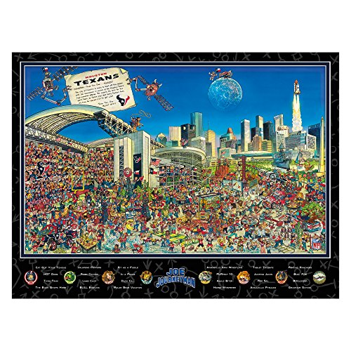 Joe Journeyman NFL Houston Texans Jigsaw Puzzle, 500-Piece