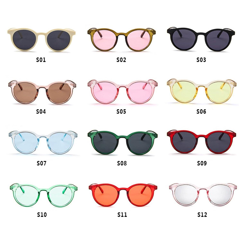 Hzjundasi MOD-Style Cat Eye Series Round Frame Fashion Sunglasses No strength Sun Glasses A Variety of Color Design Se1C8rY