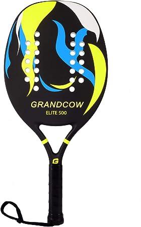 Amazon.com: GRANDCOW - Raqueta de tenis de playa con ...