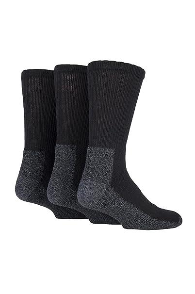 Work Force - Fuerza de trabajo - Hombres 3 Paquete de Trabajo Pesado Calcetines de trabajo para calzado de protección 39-45: Amazon.es: Ropa y accesorios