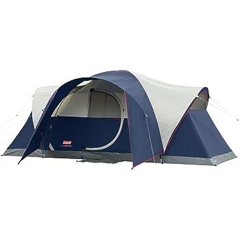 Amazon Com Coleman Elite Montana 8 Person Lighted Tent