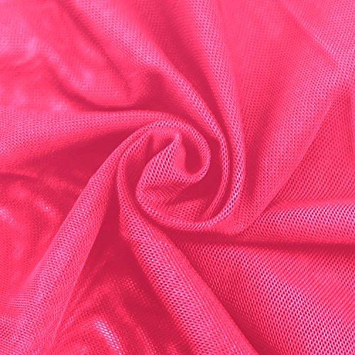 Femme Plage Unie Rose Couleur Jupe Rouge la Jolisson Jupe de Tendance Longue Et Sensuel Fendue TSwn4xIq