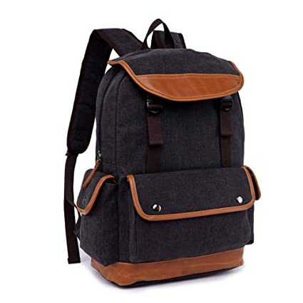 c3788ff63bcc wenKKENGhai New Multi-Function Men Canvas Backpack Style School Bags for  Teenagers Vintage Casual Rucksack