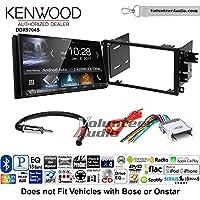Volunteer Audio Kenwood DDX9704S Double Din Radio Install Kit with Apple Carplay Android Auto Fits 2003-2005 Chevrolet Blazer, 2003-2006 Silverado, 2003-2006 Suburban