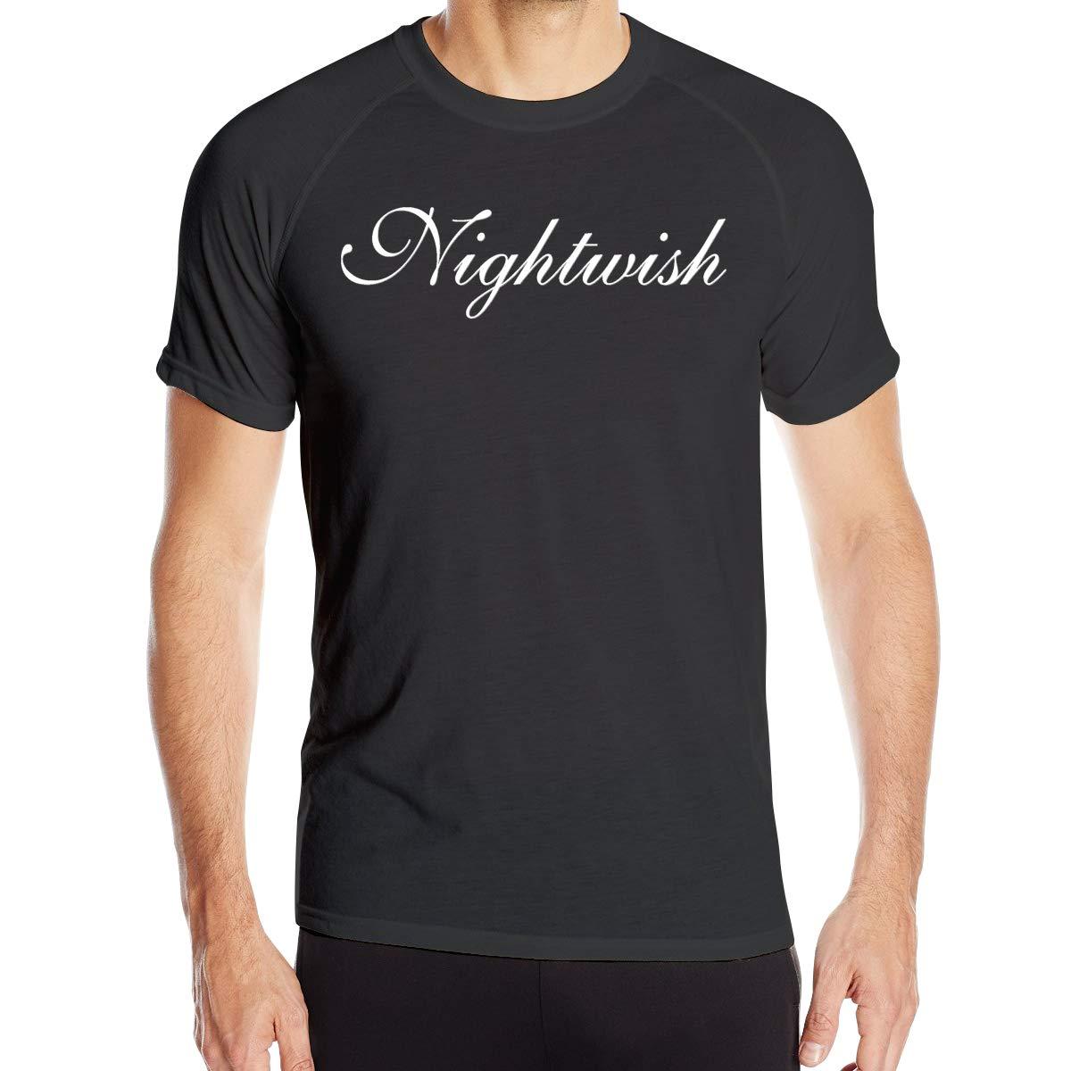 Nightwish Mans Sports Short Sleeve Tee M Black