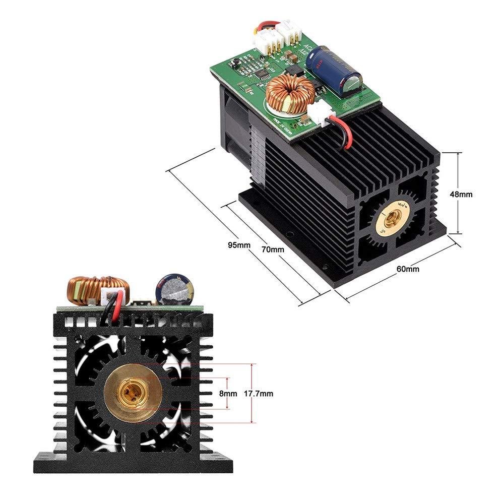 mit Schutzbrille Anzug f/ür Metall Stahl Eisen Stein Holz TOPQSC 15W USB Mini Laser Graviermaschine,DIY Logo Printer Metall laser engraver