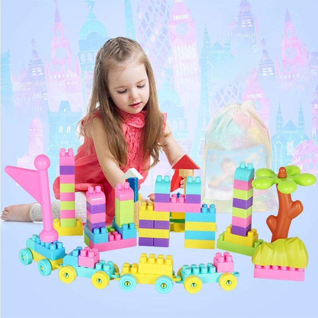 Benlet Baby Children Multicolor Educational Assembly Building Blocks Set Toys Activity Play Centers by Benlet