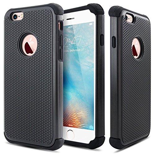iphone 6 case dual layer bumper - 5