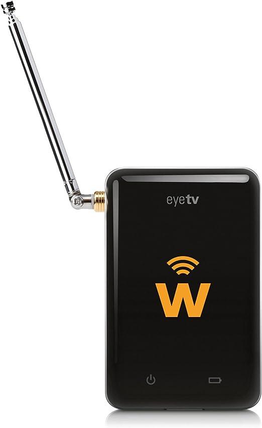 Geniatech eyeTV W - Sintonizador de televisión externo (para iPhone, iPad, Android y Kindle Fire HD), negro