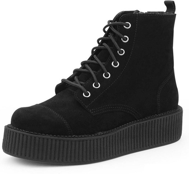 T.U.K. Shoes A8642L Womens Boots, Black