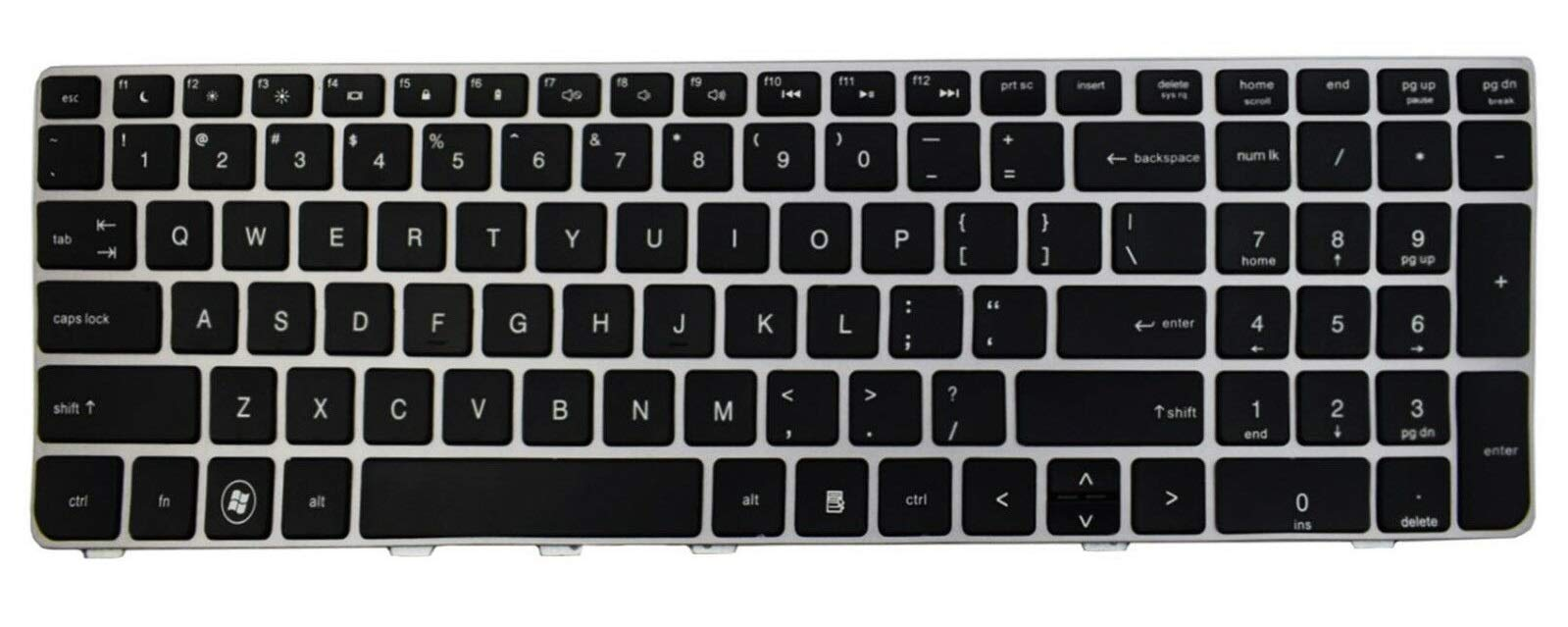 Teclado USA para HP ProBook 4530S 4535S 4730S 4735S Series W