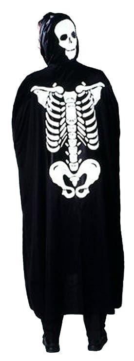Cesar - Disfraz de esqueleto para niños (de 5/10 años): Amazon.es ...